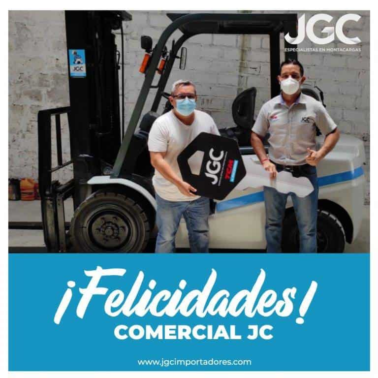 Venta Montacargas TEU- JGC Importadores