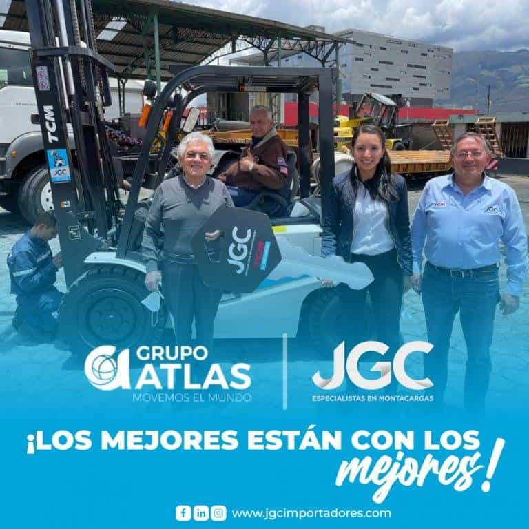Venta Montacargas TCM Gruas Atlas